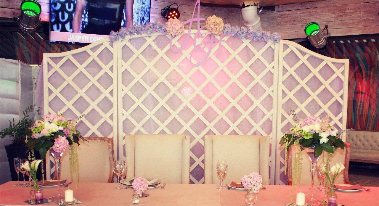 Декор для свадьбы в аренду краснодар